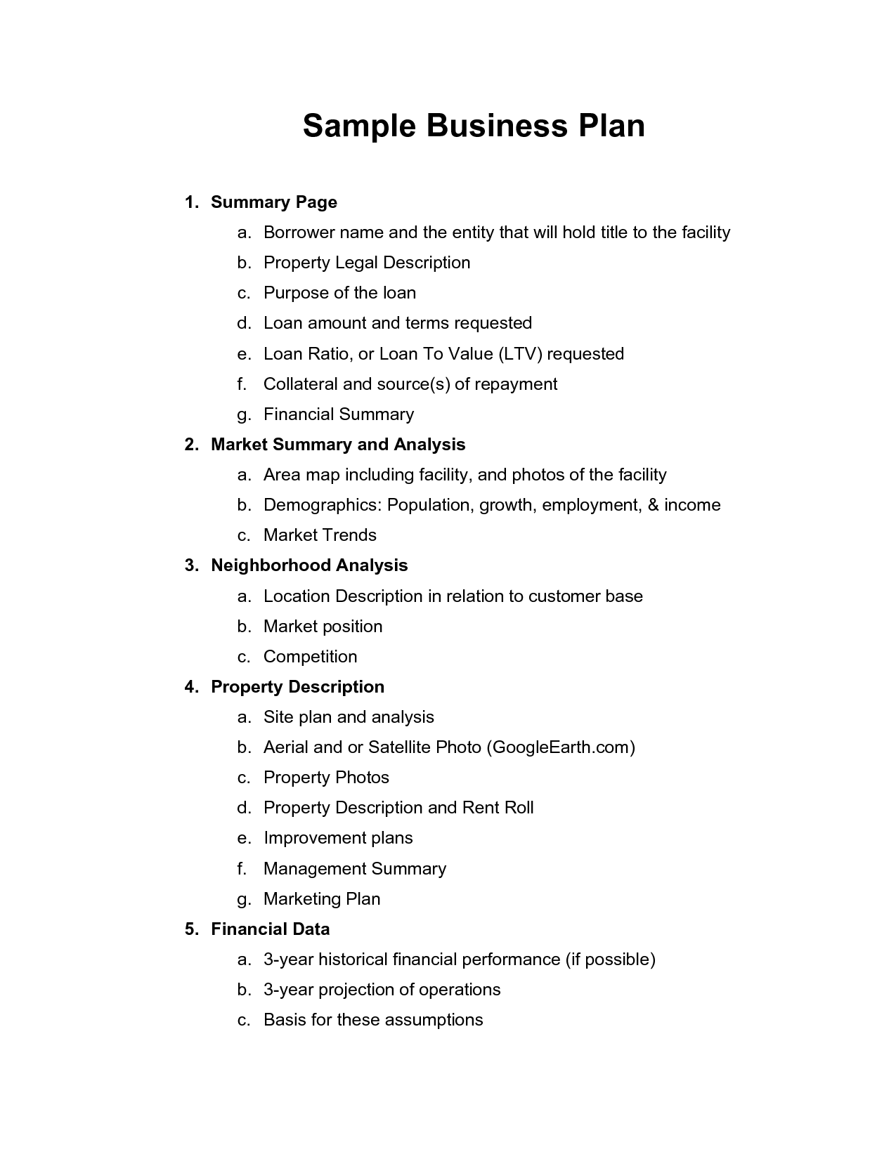 Ecommerce Business Plan Template Doc | Cleavercraver.com