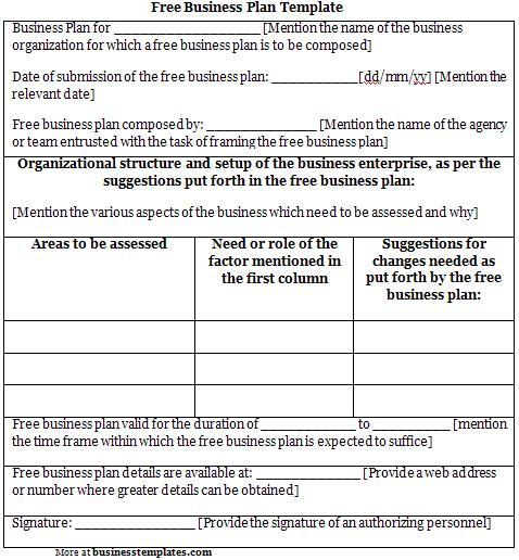 free business plans Londa.britishcollege.co