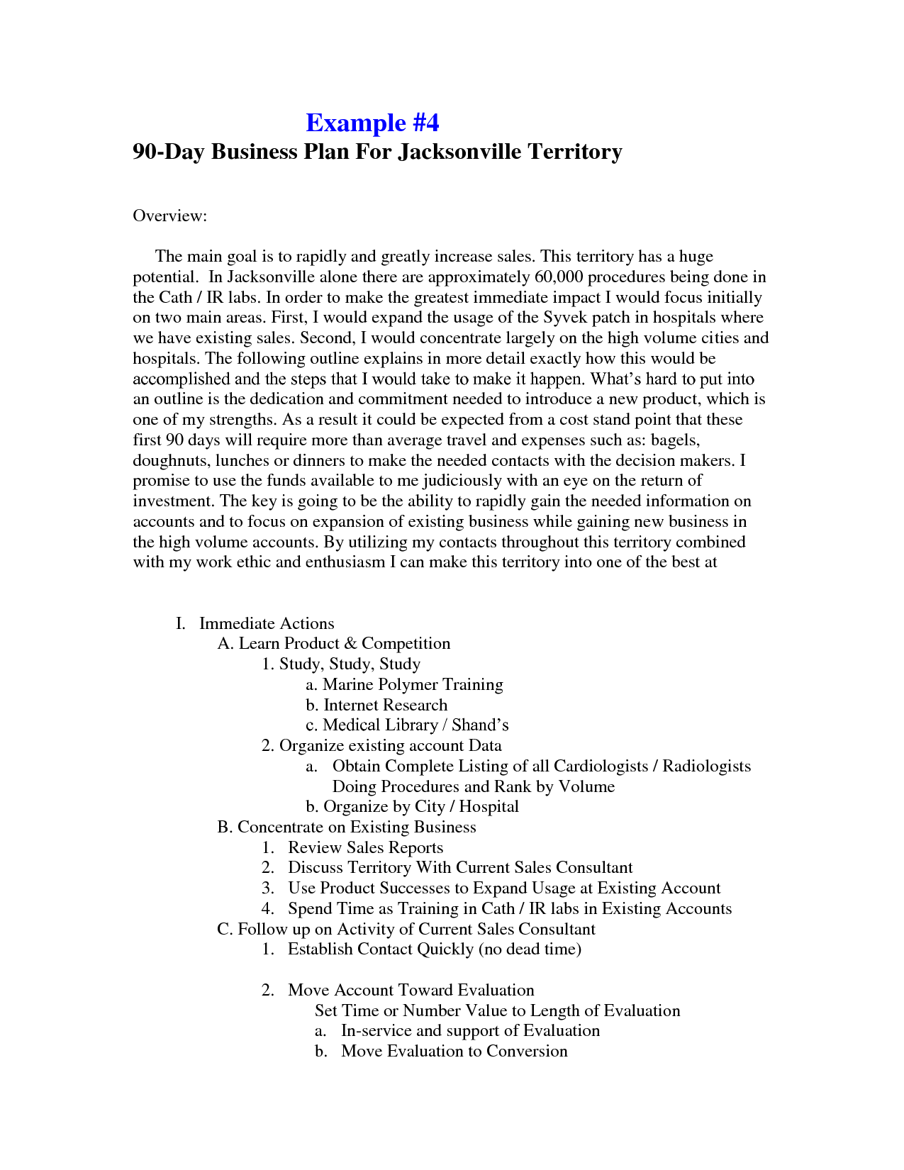 day business plan template free 90 examples sales 5e0t96x4 t