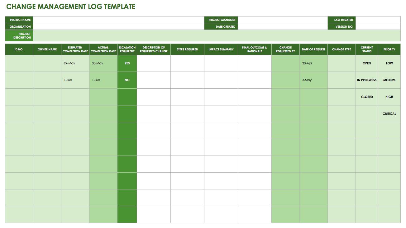 change log template Londa.britishcollege.co