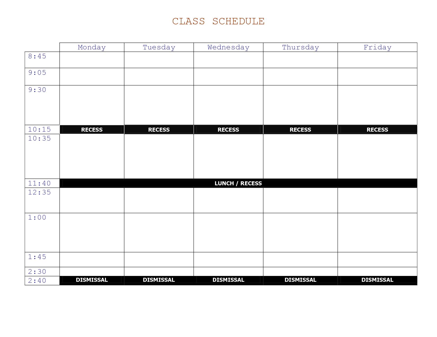 class calendar template Londa.britishcollege.co