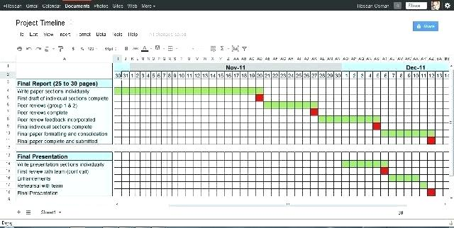 Construction Schedule Template Excel Free Project Timeline Excel