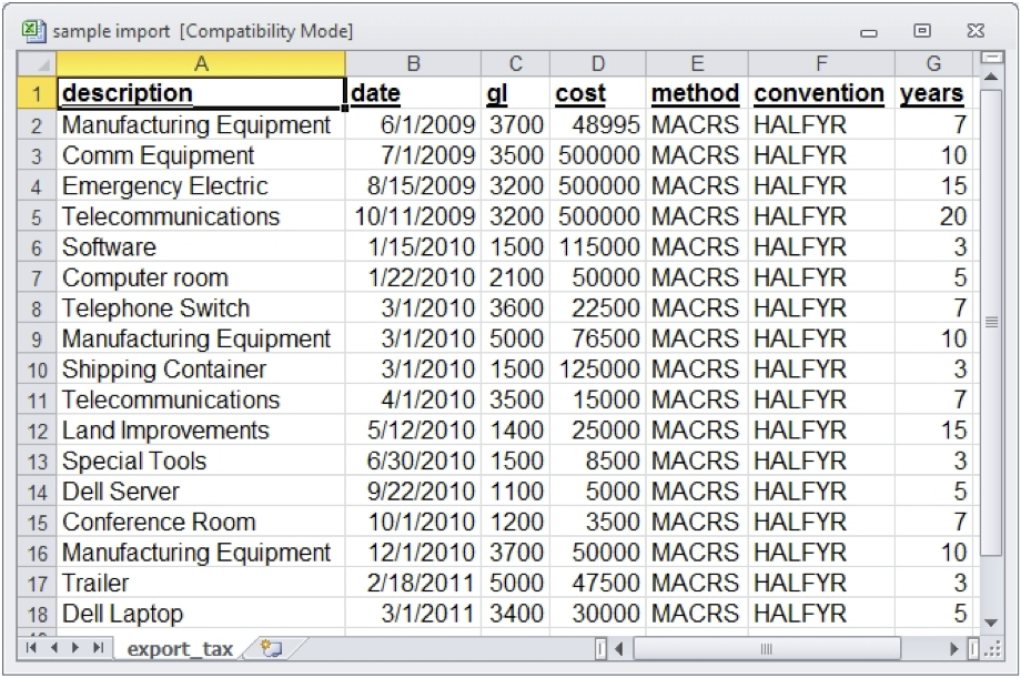 Depreciation Schedule Excel   beneficialholdings.info