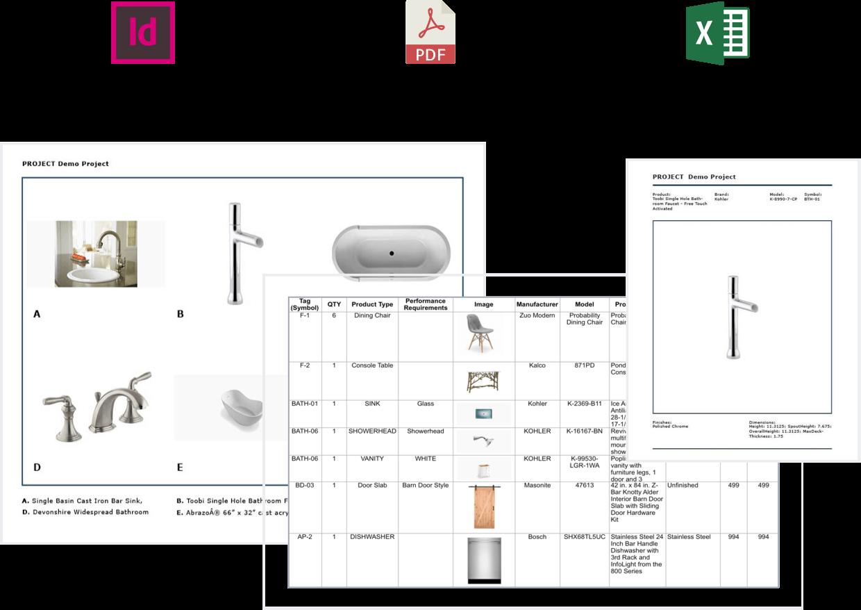 Architecture & Interior Design FF&E Specification Software
