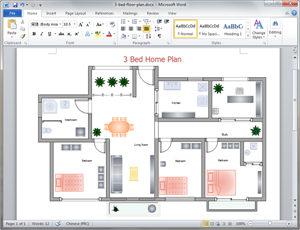 Free Home Plan Templates for Word, PowerPoint, PDF
