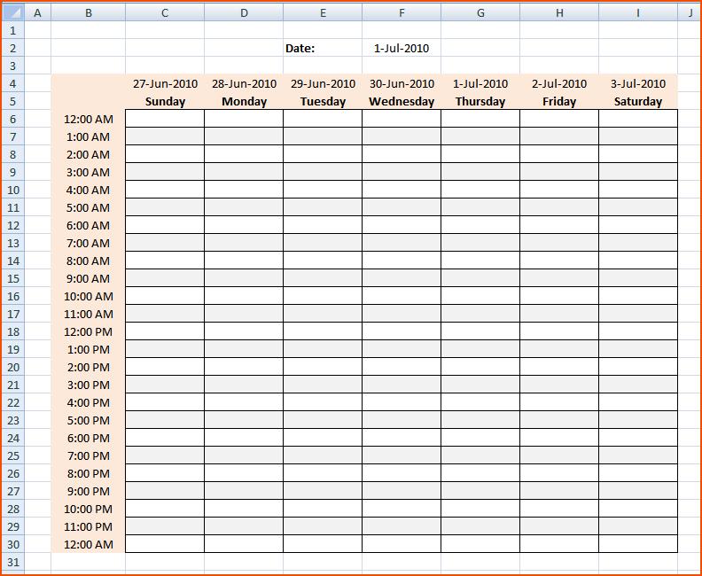 hourly work schedule Londa.britishcollege.co
