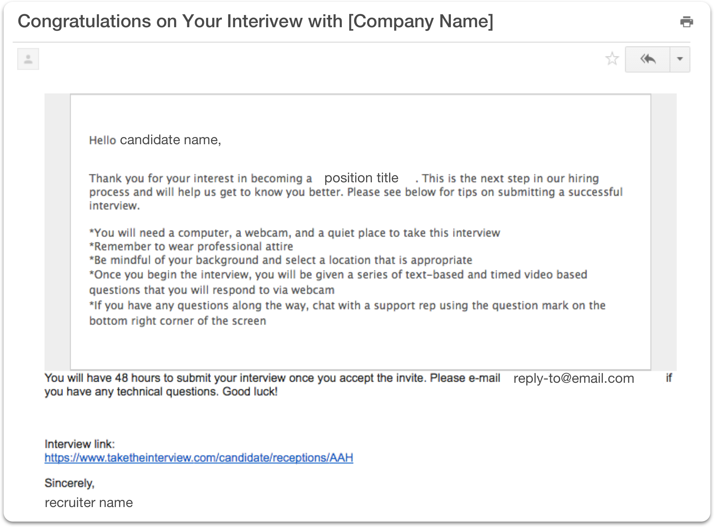 Building On Demand Custom Email Templates – Interview Help Center