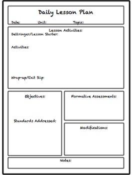 pdf lesson plan template high school high school english lesson