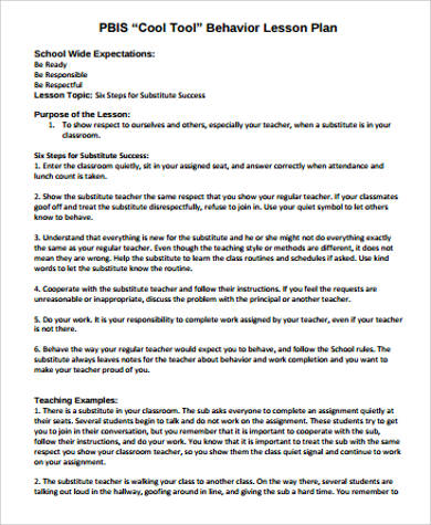 Substitute lesson plan template by Hess' House of Science | TpT