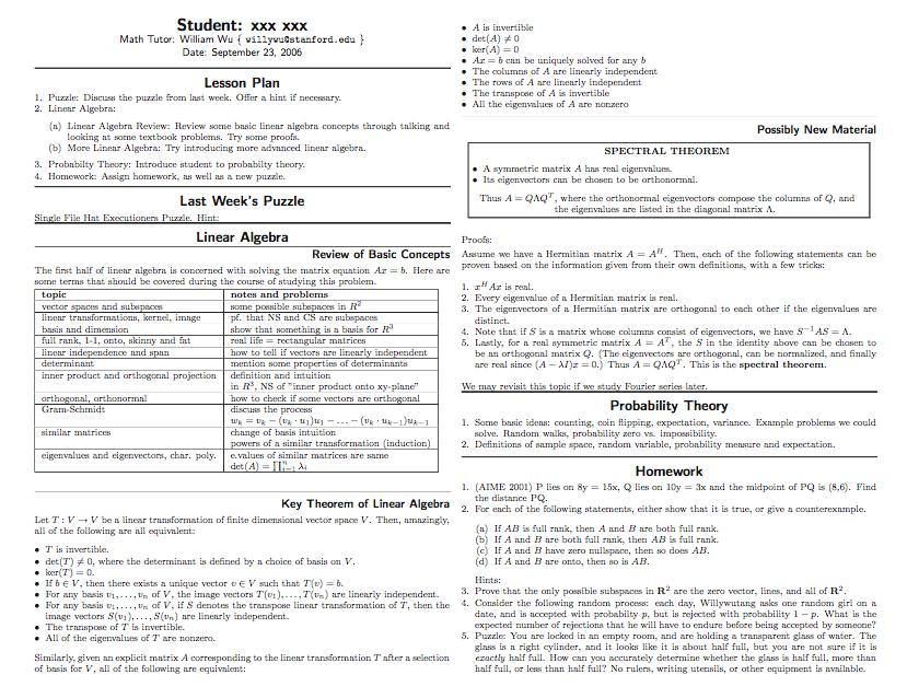 6 Middle School Math Lesson Plan Template Pueee Templatesz234