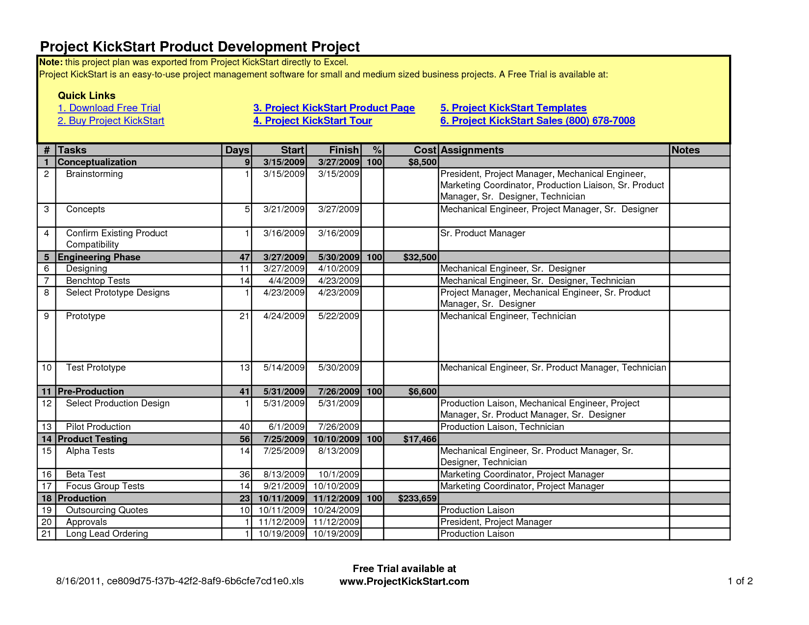 Marketing Plan Template Download. music marketing plan template 10