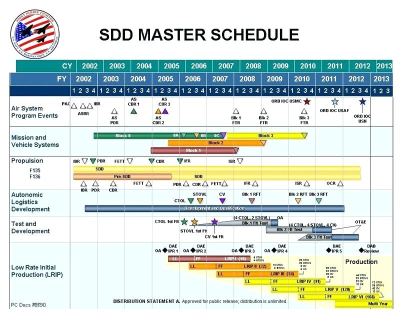 Master Schedule Template Excel - printable schedule template