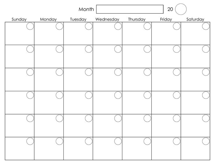 monthly scheduling calendar template | weeklyplanner.website