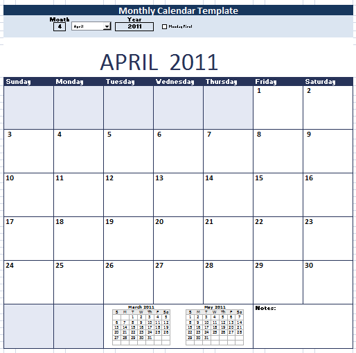 Monthly Calendar Schedule Template 9 Free Templates Schedule