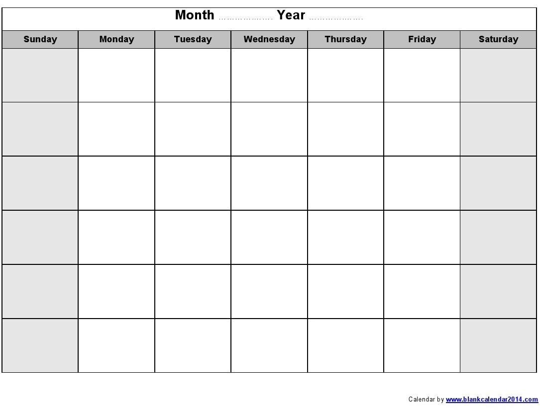 blank monthly schedule Londa.britishcollege.co