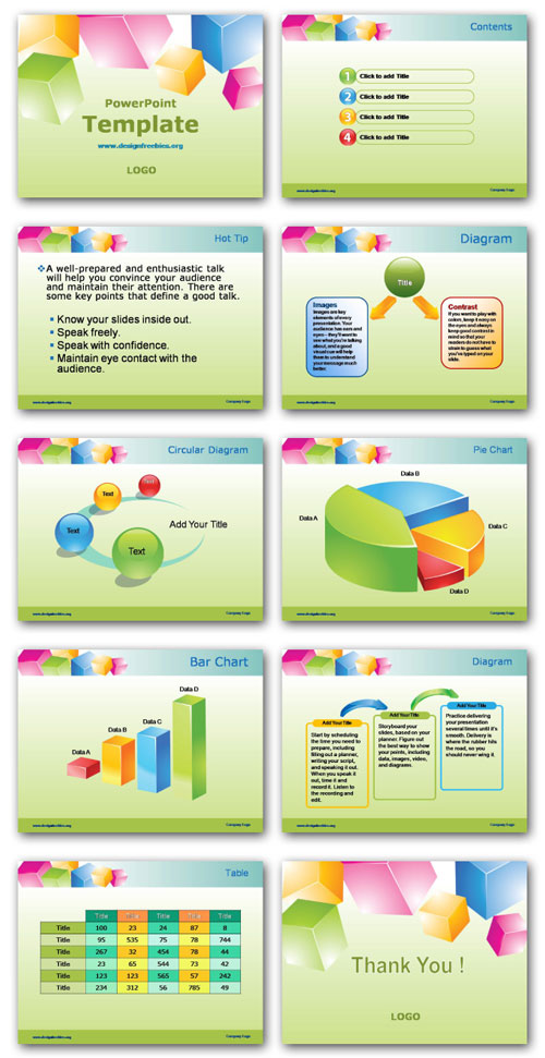 free powerpoint template preview all pages http://