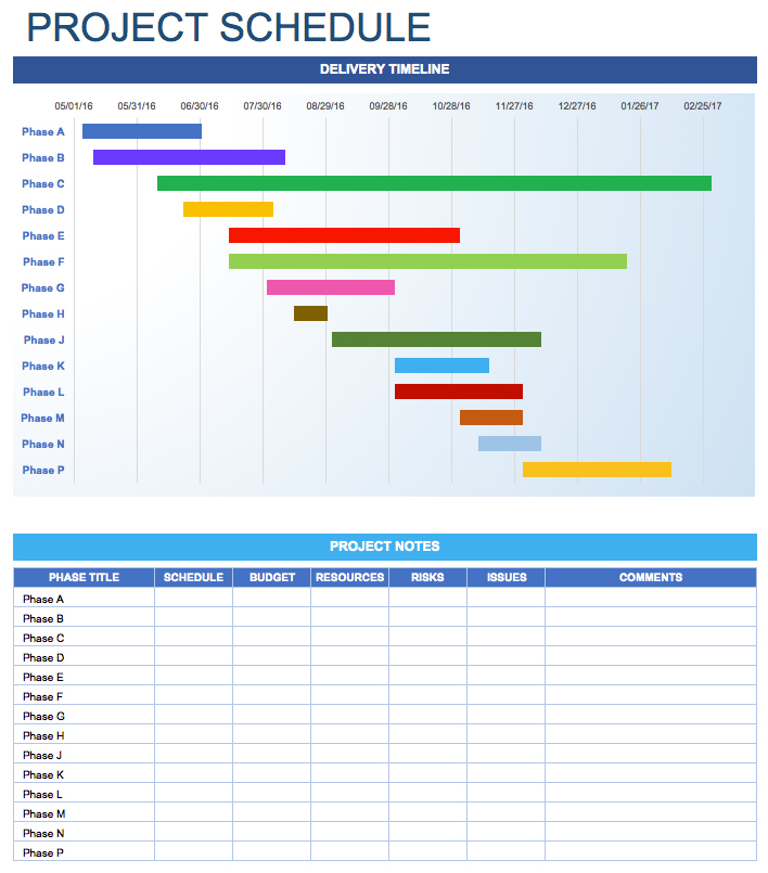 Free Daily Schedule Templates For Excel Smartsheet Project