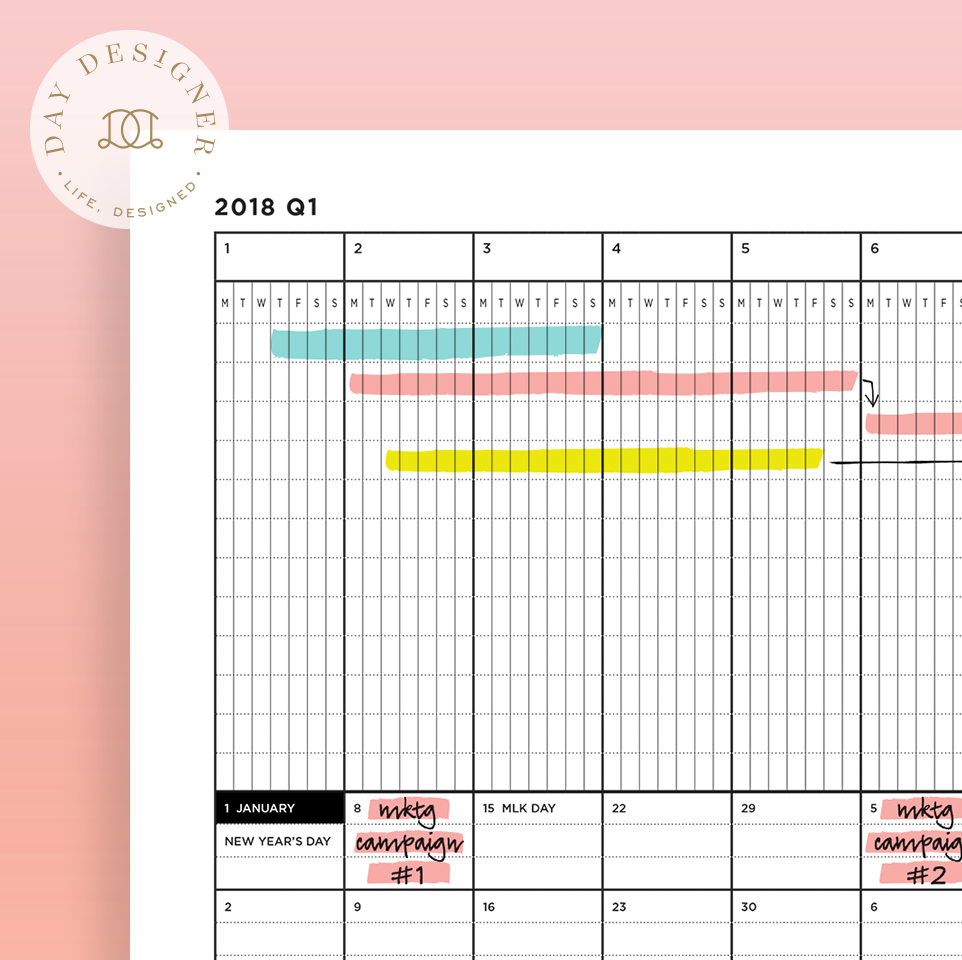 Perpetual calendars 7 free printable Excel templates