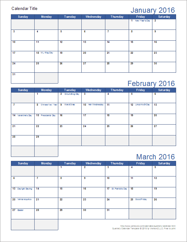 Best Ideas Of Monthly Planner Templates