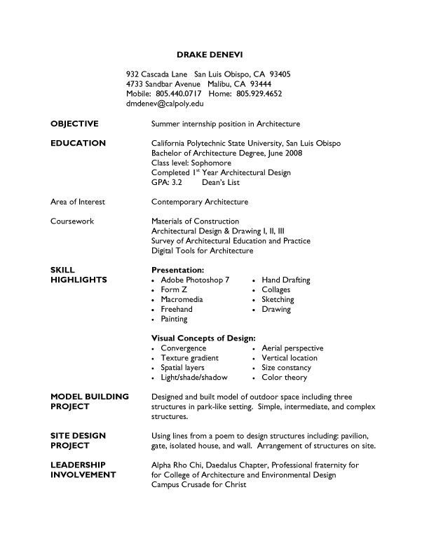 College Graduate Resume Template Cool Student