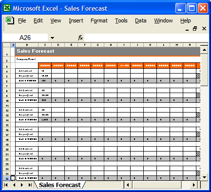 Best Photos of Sales Plan Template Excel Financial Plan Template