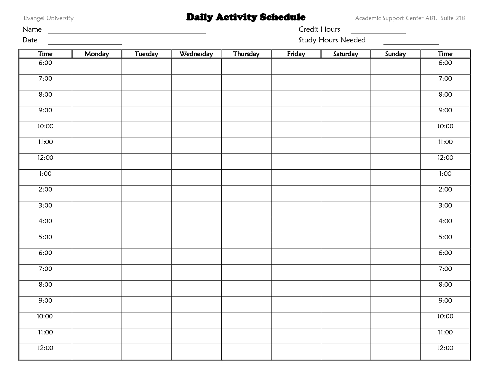 Camp Schedule Templates – 15+ Free Word, Excel, PDF Formt Download