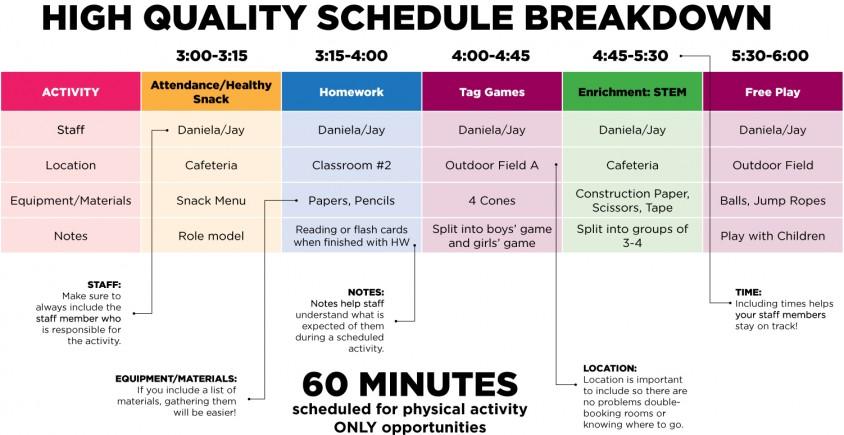 92+ Activity Timetable Template April 2017 Calendar Template