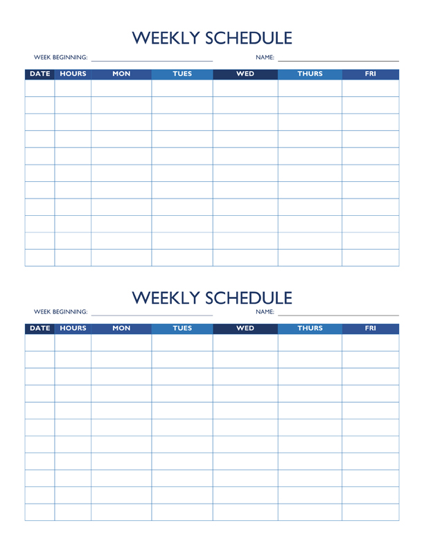 28 Images of For Clinician Availability Schedule Template