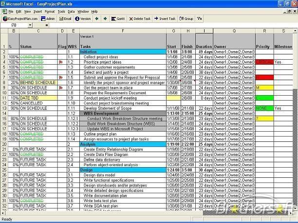 Schedule Template In Excel