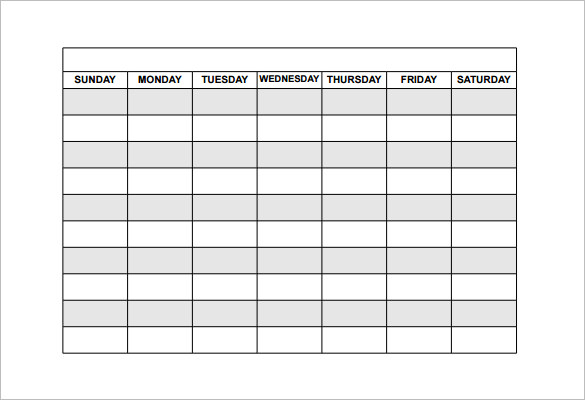 schedules templates free Londa.britishcollege.co