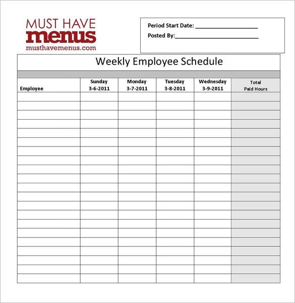 weekly schedule online Londa.britishcollege.co