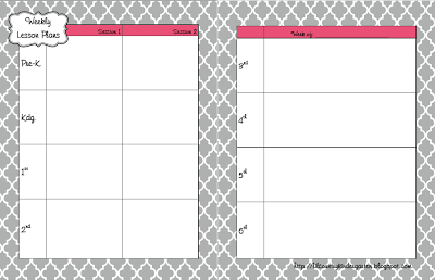 Daily Agenda Template | D*I*Y Planner