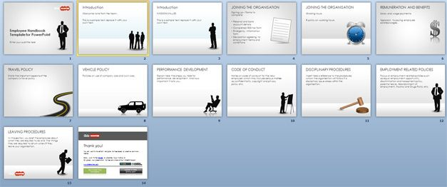 Employee Handbook Template Example RedTapeDoc