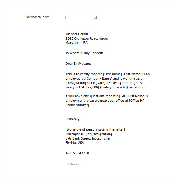 18+ Letter of Employment Templates – Free Sample Example Format