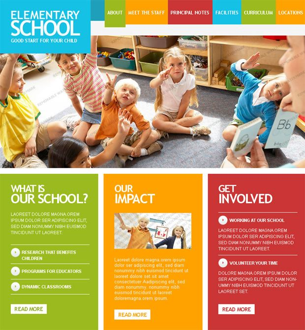 Back to School: Last Trends in Educational Website Designs
