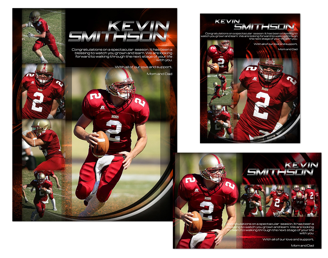 Sports Program Ads Templates 02 $14.99 : ARC4Studio | Photoshop