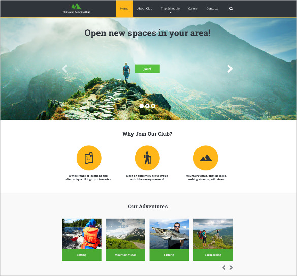 Sports Website Templates – NEW Sports Themes EVERY MONTH