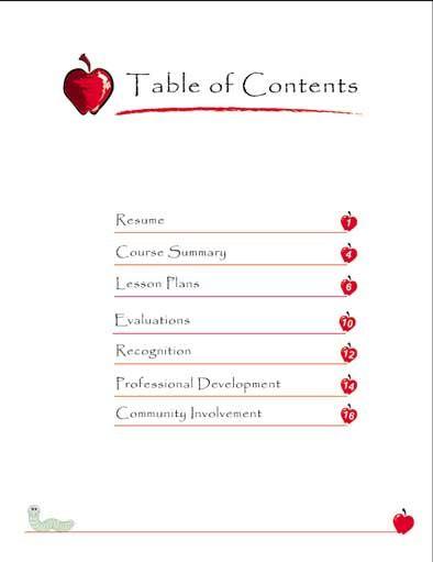 EDITABLE Teaching Portfolio Template (multicolor)   Teaching