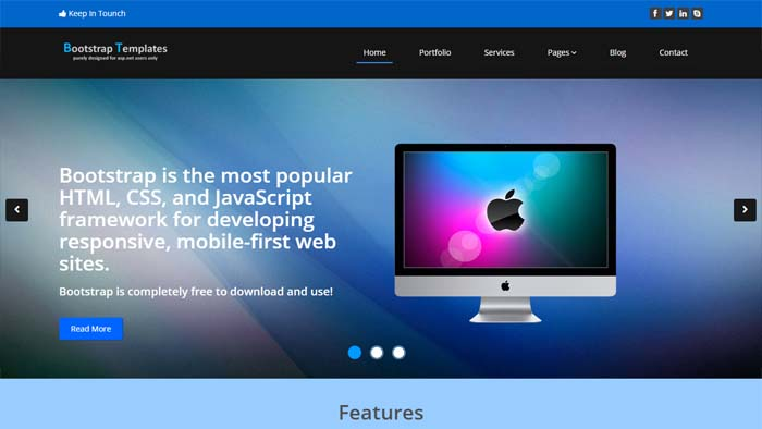 asp.template download free bootstrap templates for asp dot