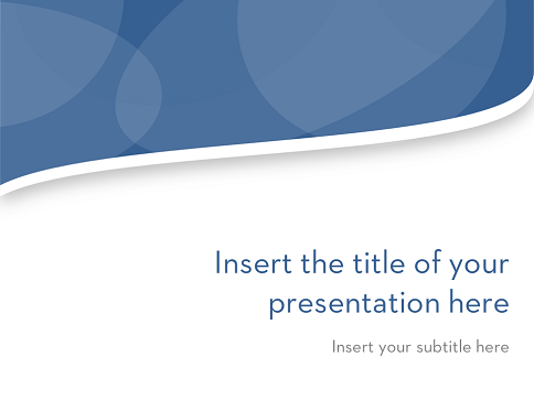 openoffice impress themes clean wavy free template for powerpoint