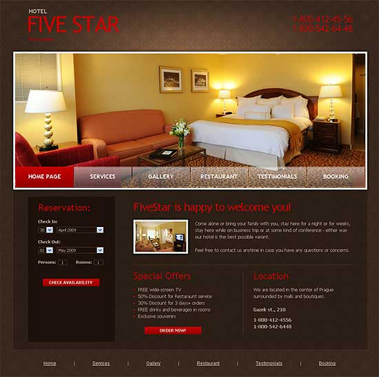Free XHTML CSS Templates | DesignFollow