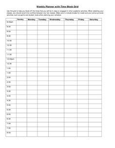 30 Images of Time Management Planner Template | adornpixels.com