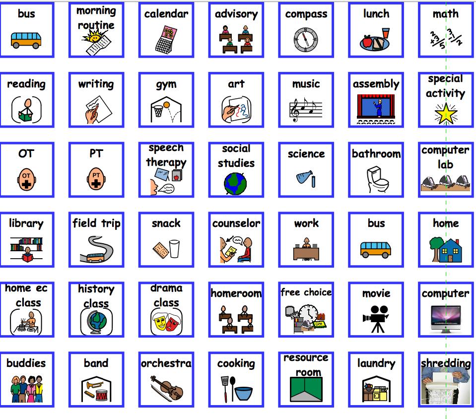 Visual Task Schedule | UDL Strategies