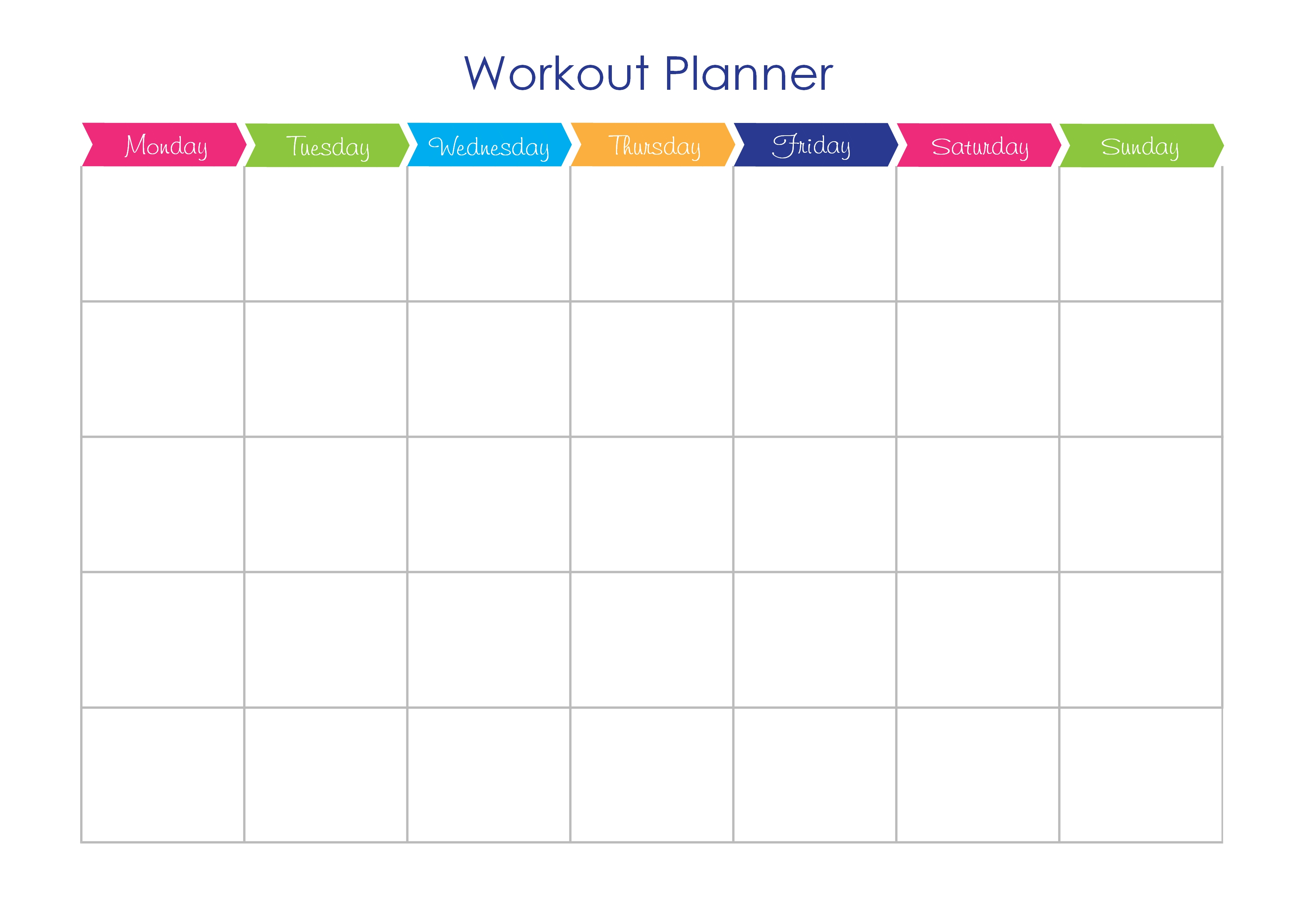 fitness plan template Londa.britishcollege.co