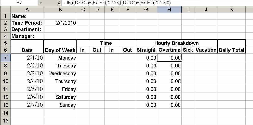 working hours timesheet Londa.britishcollege.co