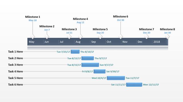 Office Timeline: Work Plan Free Timeline Templates