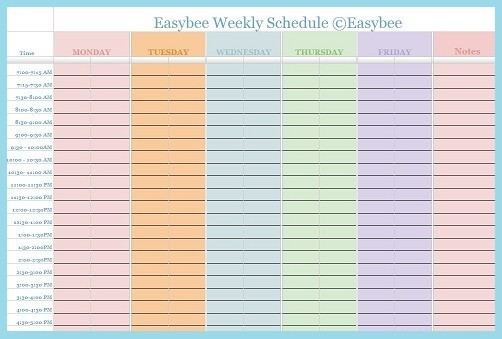 28 Images of Google Employee Schedule Template | tonibest.com
