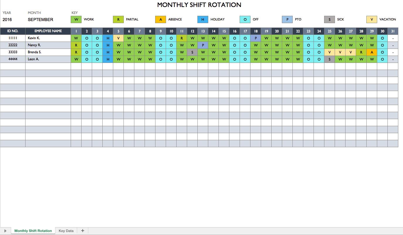 Work Schedule. Biweekly Work Schedule Template Free Weekly